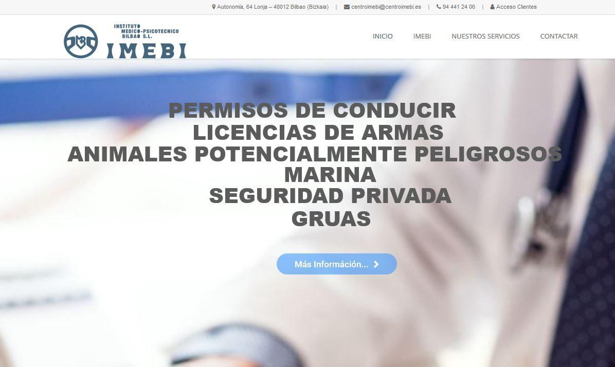 Nueva página web de IMEBI